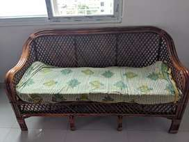 2 years Old CANE SOFA SET for SALE