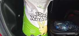Pelet vital rabbit - Makanan kelinci 1 sak isi 25 kg
