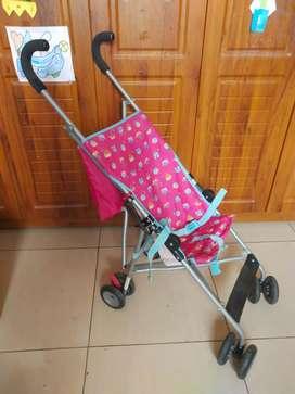 Kids Items (stroller, slide, wooden horse, magic scooter, chair etc)