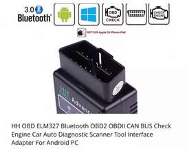 OBD ll scanner Elm327 bluetooth diagnostic tool engine check all cars