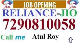 Reliance Jio Full time job apply in helper,store keeper,supervisor cal