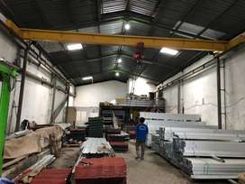 Jasa Pembuatan Pemasangan dan Maintenance servis Overhead Crane