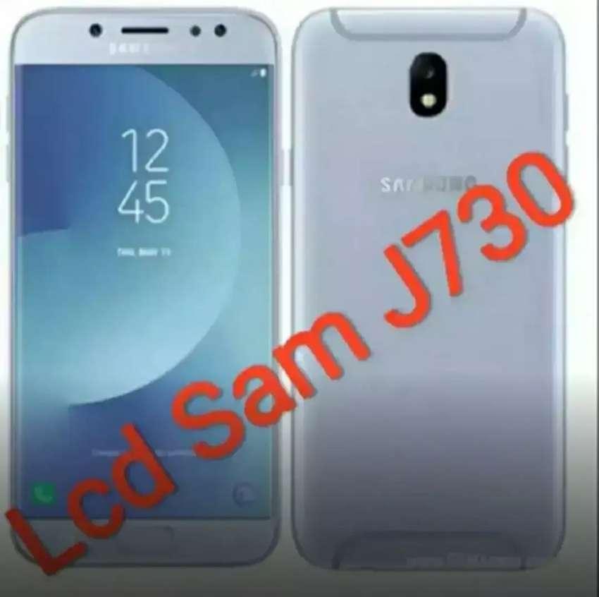 Lcd Samsung J7 Pro J730 Ori Pabrik Grade A .Ada Lcd Copotan (f/Samsung 0