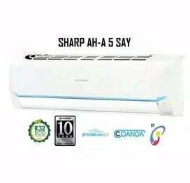 AC Sharp 1/2 PK Made In Thailand Bisa Kredit Tanpa Kartu Kredit