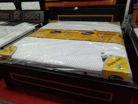 72*75 new king size bed with mattress, just one month used