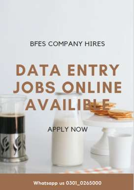 Get paid by working with us on our Data Entry Jobs available here