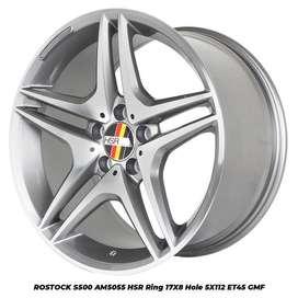 Velg mobil terlengkap kab banyumas 114 Ring 17 Hsr wheel