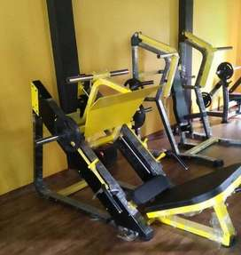 all type of gym machines full commercial setup call