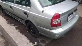 Accent gls petrol with cng