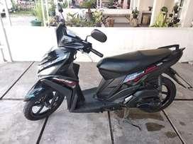 Sepeda Motor Yamaha Mio 125 SE 88 Special Edition Hitam Mulus Rendah