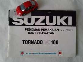 Suzuki Tornado GX 100 - Buku Pedoman dan Perawatan