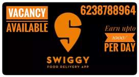 Join Swiggy as a delivery partners