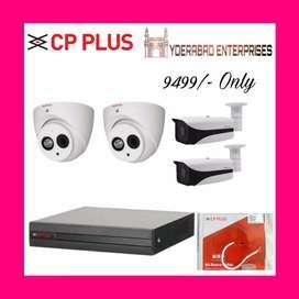 Branded cctv cameras setup hd+ clarity ir hd night vision