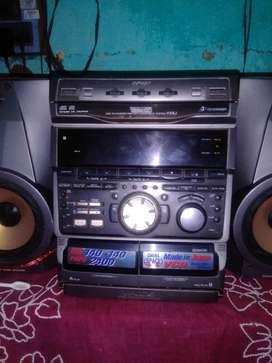 SONY vx5j sound system . Made in japan .2400 watt.