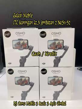 Kredit Yuk - DJI Osmo Mobile 3 Basic 3 Axis Gimbal Tanpa CC Dp Low