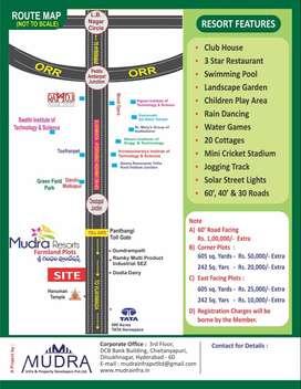 ##Srigandham Plantation## Highway Facing Plots for Sale