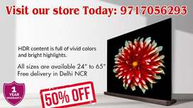 "ULTRA HDR SMART LED TV (50"") AT VERY AFFORDABLE PRICE- CALL NOW!!"