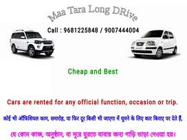 Cars are rented for any official function occasion or trip