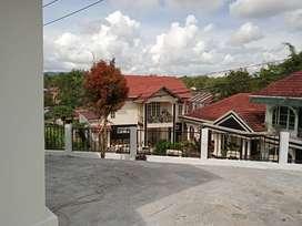 Rumah semi villa view bagus tengah kota bukittinggi