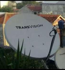 Parabola TRânsvision HD Area Klungkung Murah Setahun Diskon Paket 50%