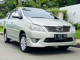Toyota innova V Luxury 2012 Termuraah