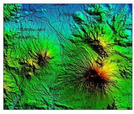 Peta Topografi / Geotag untuk Gps Garmin