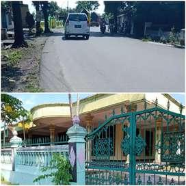 Rumah 570m2 tepi Jalan besar diDelanggu dijual Cepat 1M