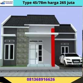Rumah komersil murah strategis bandar Lampung