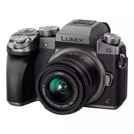 Mirorless Lumix G7 lensa kit