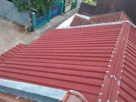 Renovasi rumah atap spandek pasir