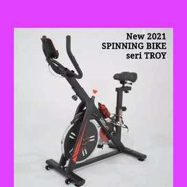 spinning bike sepeda statis troy FC-01 spin magnetik