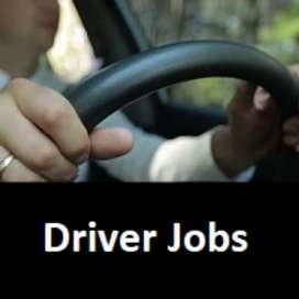 Driver jobs joining in family and companies only Experience can apply