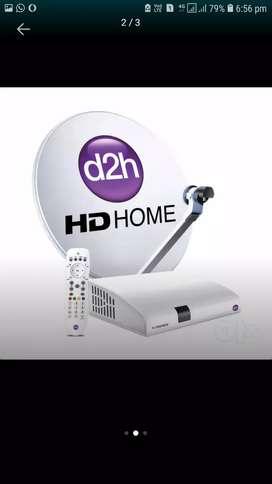 DTH Dish TV Videocon Tata Sky