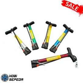Pompa Ban Sepeda Portable SPEED LX 016-4 Mudah di bawa kemana saja