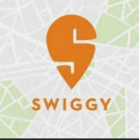 Delivery boy at swiggy