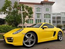 Porsche Cayman 2.7 PDK 981 Coupe 2013 Yellow Full Option Km9000 Antik