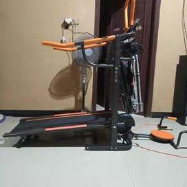 Best Treadmill manual 6 Fungsi Lengkap berkualitas Fc-8003