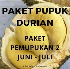 Pupuk Durian Paket 2 Pra Pembungaan