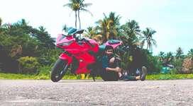R 15 v2 Red colour