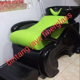 kursi keramas salon hitam jok hijau, bangku keramas