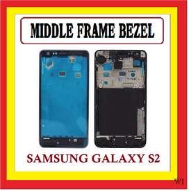 Bazel Bezel Middle Tulang tengah SAMSUNG I9100 Galaxy S2 Original
