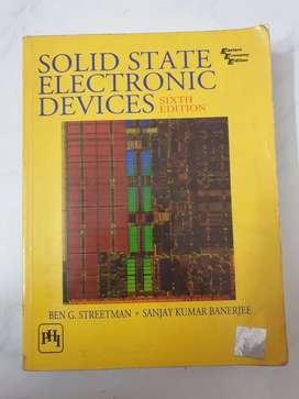 Solid State Devices (by Ben G. Streetman)