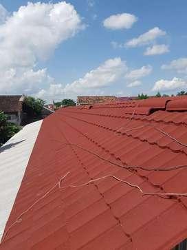 Pasang Kontruksi Baja Ringan dan Atap Metal Pasir IRIT Ya GLOBETRUSS