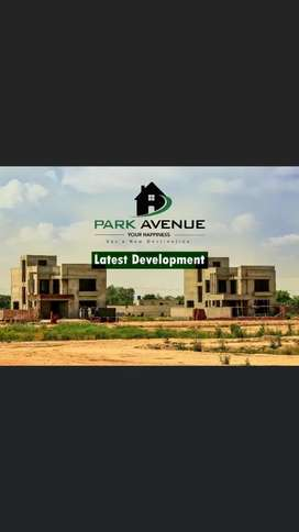 plots For sale park avenue society LDA Approved at Raiwind road