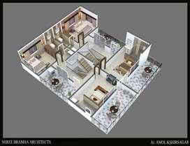 3 BHK RAW HOUSES IN LOHEGAON PUNE