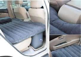 Car Air Bed rubber, nylon and PVC. Thong those are sturdy sorts,