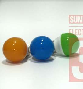 Bohlam 3 watt led warna grosir