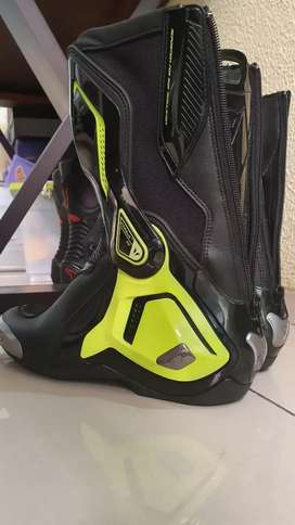 Sepatu Dainese D1 Torque out Yellow Fluo