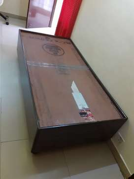 2 Dewan bed with storage box 72x36 inches