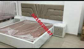 Double bed with side tables